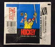 1988-89 TOPPS NHL HOCKEY WAX PACK WRAPPER - NO TEARS - TOPPS USA OPC