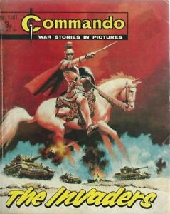 THE INVADERS,COMMANDO WAR STORIES IN PICTURES,NO.1101,WAR COMIC,1977