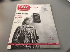 TÉLÉ MAGAZINE N° 37 (juillet 1956) : ÉDITION SPÉCIALE : LA FEMME ESCLAVE ?