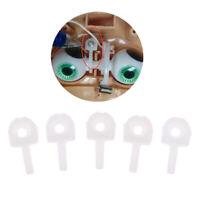 5pcs Kunststoff T Fixierstange T Fixer Bar Augen Mechanismus für 12 Zoll Puppen