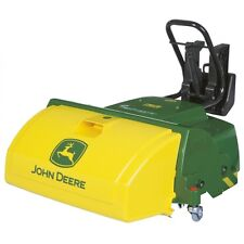Rolly Toys John Deere Frontkehrmaschine Kehrmaschine Sweeper grün