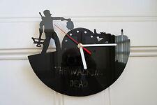 Walking Dead design wall clock, made from black plexiglass [ D-5 ]