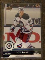 2017-18 UD Hockey Series 1 Patrik Laine Jumbo Card # 198  3.5 X 5.0
