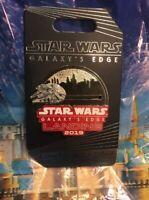 Disney Star Wars Galaxy's Edge Landing 2019 LR Pin New In Hand