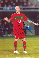 Raul Meireles, Portugal, Porto, Chelsea, Liverpool, signed 12x8 inch photo. COA.