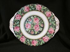 Royal Albert - NEEDLE POINT - Handled Cake Plate