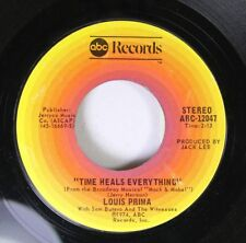 Pop 45 Louis Prima - Time Heals Everything / When Mabel Comes In The Room On Abc