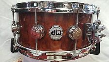DW Exotic PRIVATE RESERVE Waterfall Bubinga Snare 6.5x14 FREE SHIPPING!