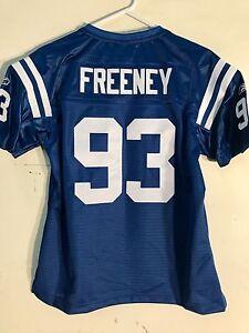 Reebok Women's Premier NFL Jersey Indianapolis Colts Dwight Freeney Blue sz L