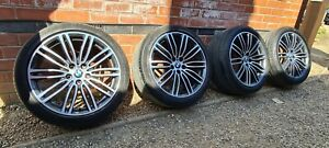 "Genuine BMW 19"" 664m M Sport Alloy Wheels Run Flat G30 G31 5 Series"