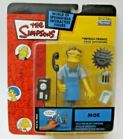 The Simpsons Bartender Moe Series 12 Action Figure With Blue Apron by Playmates
