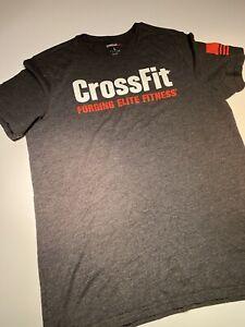 Mens Reebok CrossFit t shirt Used Short Sleeve Size Large