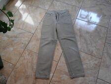H8206 Lee Youth St Louis Jeans W25 L32 Beige ohne Muster mit Mängeln