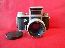 Pentagon FB Spiegelreflexkamera mit Objektiv Carl Zeiss Jena Biotar 2 / 58 mm
