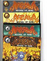 WARRIOR NUN AREALA: ANGEL OF WAR #1-4 COMPLETE SET ANTARCTIC PRESS