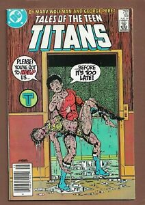 Tales of the Teen Titans #45 (August 1984, DC Comics) - News Stand Issue