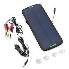 18V7.5W Solarpanel Erhaltungsladung Solarmodul Ladegerät für Auto KFZ Motorrad