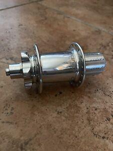 Chris King ISO Disc Hub 135mm Rear Silver Shimano Freehub