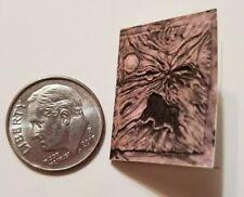 "Miniature dollhouse Halloween book  1/12 Scale   1"" Necronomicron Demon Tree 2"