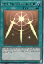 YU-GI-OH CARD: SWORDS OF REVEALING LIGHT - ULTRA RARE - YGLD-ENB17 - 1st ED