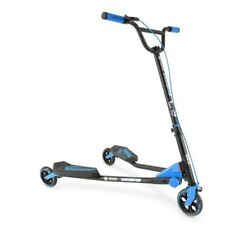 Durable Y Fliker C3 - 3 Wheeled Drifting Scooter w/ Sturdy Rubber Grip Handle