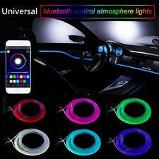 RGB Light LED Car Interior Neon Strip Light Sound Active Bluetooth App Control