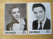 (2) Elvis Presley Sun Records black and white Publicity Photos, Reproductions