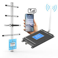 Cell Phone Signal Booster Dual Band 700MHz Band 12/13/17 4G LTE  Repeater Amplif