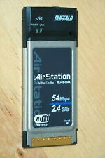 Buffalo AirStation WLI-CB-G54A 802.11g 2.4GHz Wireless Laptop PCI Express Card