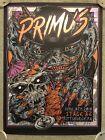 2018 Primus Concert Show Pittsburgh Pa Foil Art Print Poster Mondo Rhys Cooper