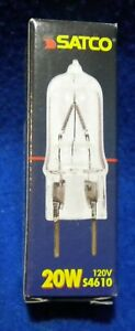 SATCO 20W 12v S4610 BI-PIN G8 Base Halogen Bulb