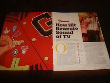 GLEE 100th episode ads article Matthew Morrison, Jane Lynch, Lea Michelle, Cory
