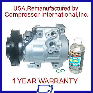 2004 2005 2006 2007 2008 2009  Mazda 3 Non turbo New AC A//C Compressor Fits