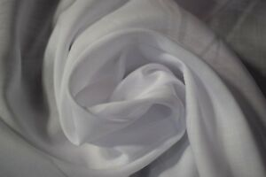 "Optic White Handkerchief Linen Organic Fabric 3oz Hanky Natural Fiber 55"" W Soft"