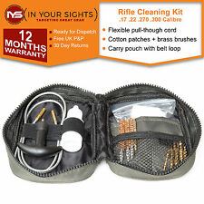 Rifle cleaning kit Pull through gun cleaning kit Suit .17 .22 .270 .300 calibre