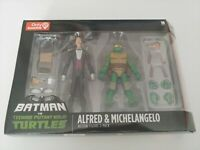 Batman Vs TMNT 2pk Gamestop Exclusive Alfred & Michelangelo Nickelodeon