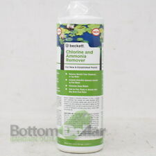 Beckett Corporation's AMCR16 16 Oz Chlorine & Ammonia Remover Cleaner For Ponds