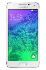 NEW DAZZLING WHITE UNLOCKED SAMSUNG GALAXY ALPHA SM-G850A PHONE Y250