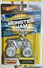 Hot Wheels Monster Jam MAX-D 2017 Silver Collection 25th Anniversary 1:64