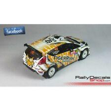 Decalc FORD FIESTA S2000 Rallye WALES 2014 # 49 Mc CORMACK