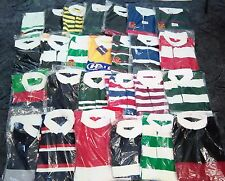 Assorted Stripe Long Sleeved Rugby Shirt Polo Mens Sport Tops 50 Pieces