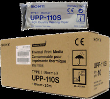 Sony Original UPP110S Thermal Paper UP890MD, UP895MD, UPD895 Bx 10