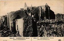 CPA   La Guerre 1914-1915 - Rembercourt (Meuse) -aprés le bombardement (432207)