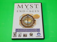 Myst V: End of Ages Game (PC, 2005) EXCELLENT CONDITION no manual