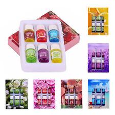 6Flavor 3ML/Box Pure Aromatherapy Essential Oil Skin Care Bath Massage Beauty US