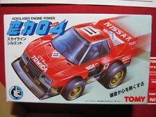 1980s Tomy Nissan Skyline GTR Vintage Aerolaser Engine Power Japan Tomica Car