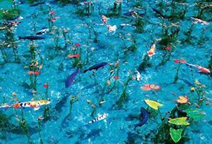 1000 Piece Jigsaw Puzzle Monet's Pond Micro Piece (26 x 38 cm)
