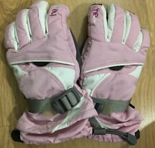 HEAD Gloves Youth Medium Pink And White