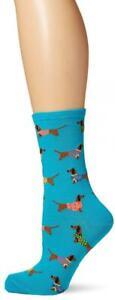 Socksmith Women's Haute Dog Socks 9-11, Blue
