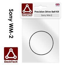 DeckTech™ Replacement Belt for Sony Walkman WM-2 WM2 WM-II Rubber Drive Belt Kit